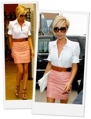 victoria-beckham-leather-skirt