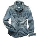 Madewell Wayward Jean Shirt In Desert Willow Wash
