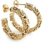 Blue Nile Byzantine Hoop Earrings in 14k Yellow Gold