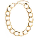 Savannah Pave Curb Chain Necklace