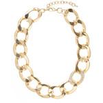 Savannah Pave Curb Chain Necklace