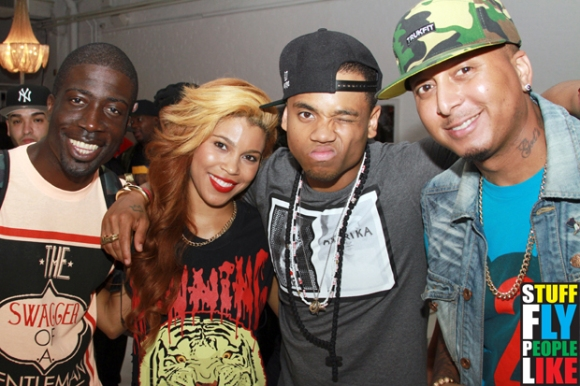 Rae Holliday, Sofi Green, MAck WIlds and Gabriel Williams