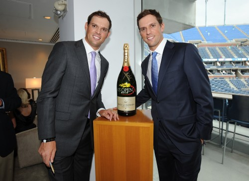 The Moet & Chandon Suite At The 2013 US Open - Opening Night