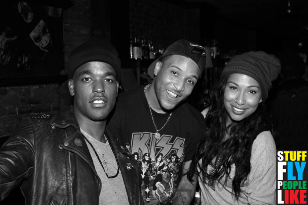 Luke James, Ro James and Melanie Fiona