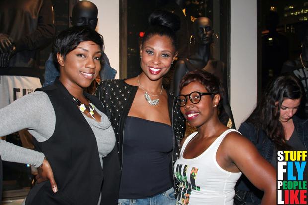 Piper, Jennifer Williams and Aleesha Smalls-Worthington