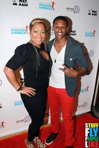 Monifah and J Rome