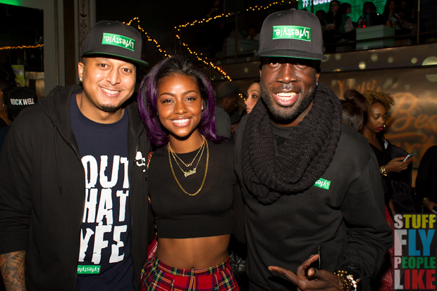 Gabriel WIlliams, Justine Skye and Rae Holliday