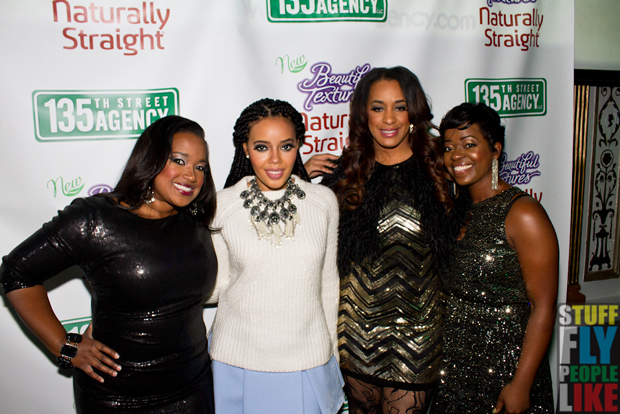 Shante Bacon, Angela Simmons, Charlene Dance and Saptosa Foster