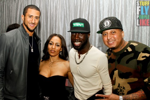 Colin Kaepernick, Melyssa Ford, Rae and Gabe