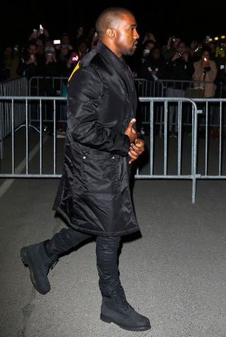 Trend Spotting: Jay-Z & Kanye West Spotted In Black Suede ...