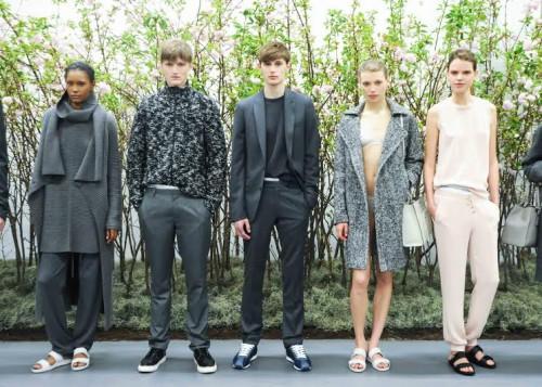 CALVIN KLEIN Presents Fall 2014, Models