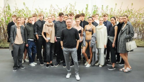 Kevin Carrigan, CALVIN KLEIN Presents Fall 2014, Models