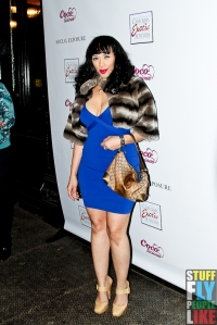 Coco Austin and Ice-T attend the Coco Licious launch party