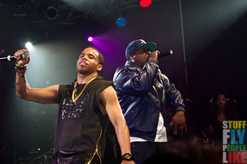 Mack Wilds and Jadakiss