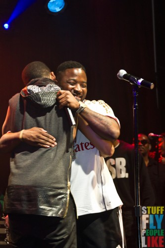 Mack Wilds and Troy Ave