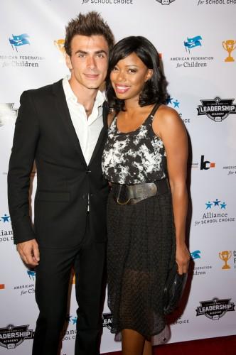 Actress Jill Marie Jones and boyfriend