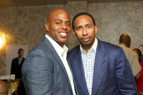 Kevin Frazier and Stephen A Smith