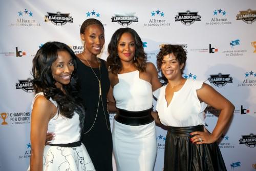 Kita Williams, Lisa Leslie, Laila Ali and Monique Jackson