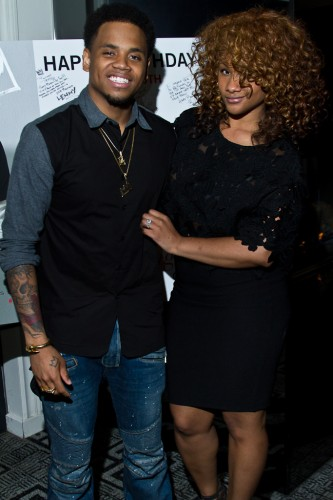 Mack Wilds and Mecca Moore_