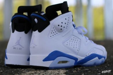 "innovative design 22cc2 15b8b FLY Kicks of The Day: Air Jordan 6 Retro ""Sport Blue ..."