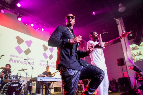 Jeremih and Fabolous at vitaminwater and The FADER uncapped