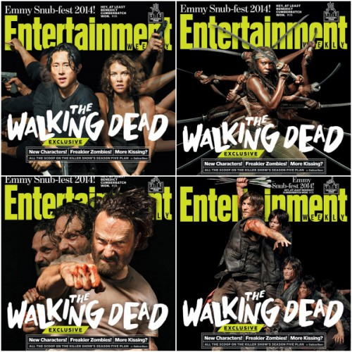 Walking Dead Collage
