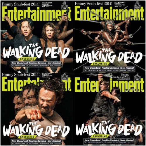 Walking Dead Collage