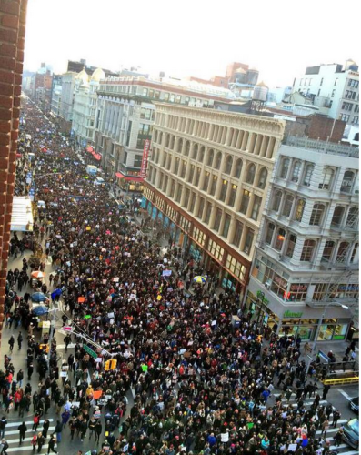 Millions March NYC