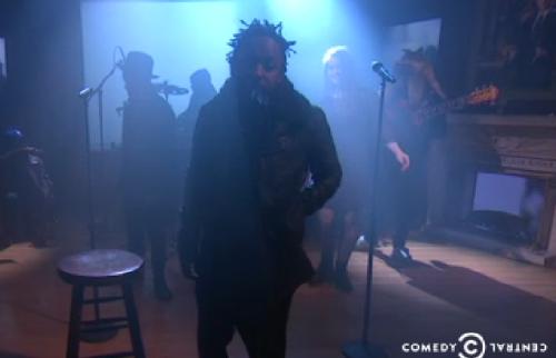 Kendrick Lamar The Colbert Report