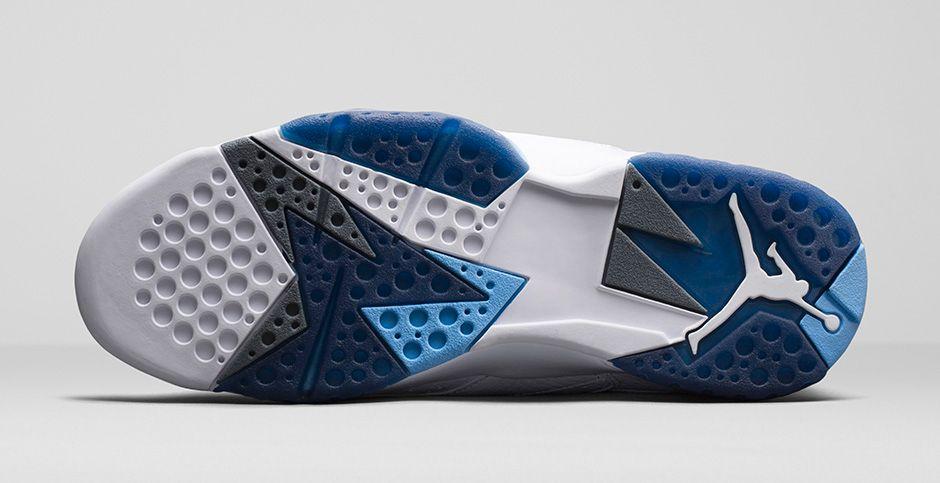 "09ab9b279683 A Detailed Look At The Air Jordan 7 Retro ""French Blue""  Photos ..."