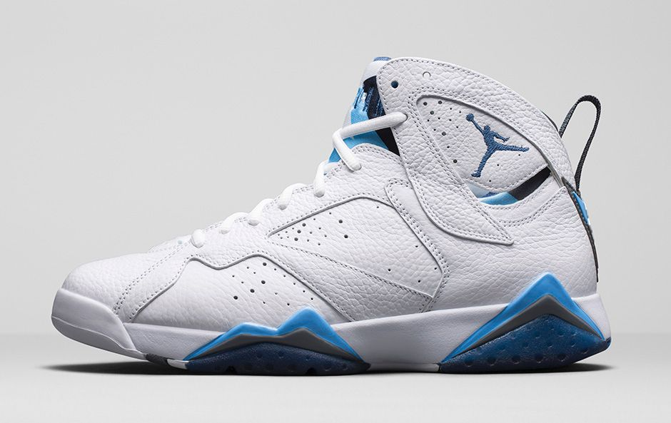 """wholesale dealer 92e75 0638c A Detailed Look At The Air Jordan 7 Retro """"French Blue ..."""