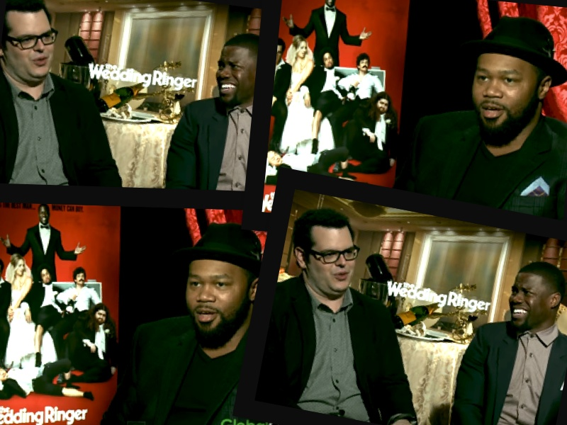 The Wedding Ringer.Watch Kevin Hart Josh Gad On Upcoming Movie The Wedding Ringer
