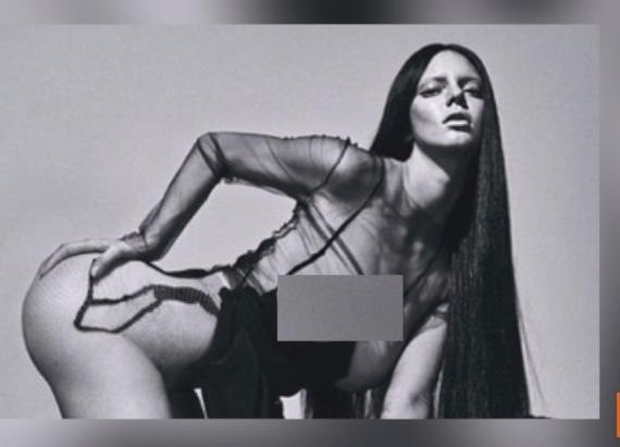 Kendall Jenner Bares Booty for 'Love' Magazine Following Kim Kardashian