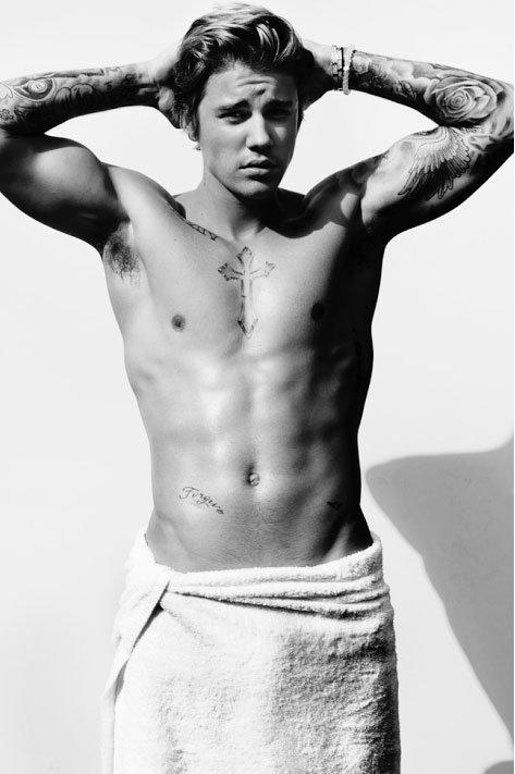 Justin Bieber For Vogue Magazine