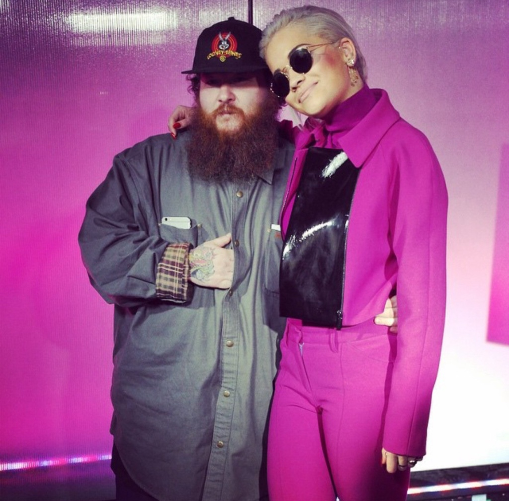 Rita Ora and  action Bronson