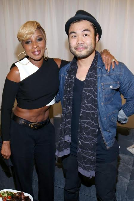 Mary J. Blige and Chef Paul Qui