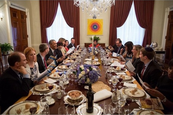 Easter Dinner At The White House