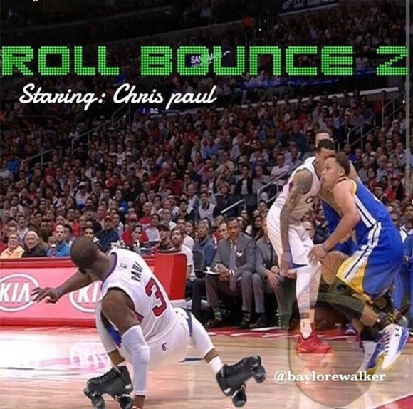Steph Curry Breaks Chris Paul's Ankles Memes