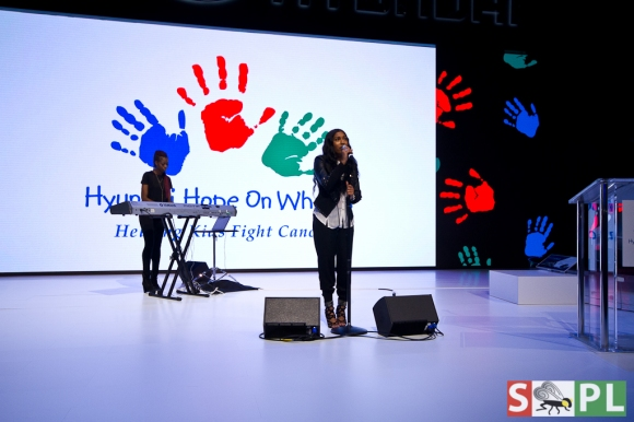 Hyundai Hope On Wheels Melanie Fiona