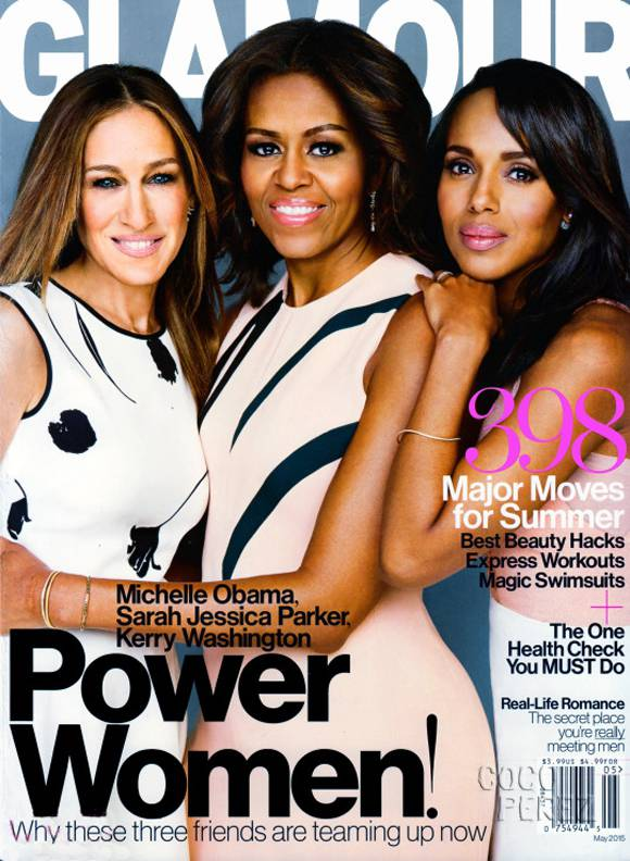 Michelle Obama, Kerry Washington and Sarah Jessica Parker Glamour