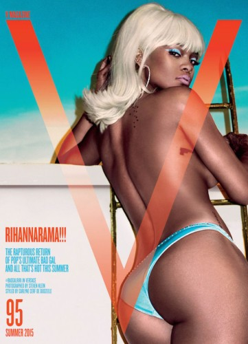Rihanna-V-Magazine-Summer-2015-Cover-Steven-Klein-672x931