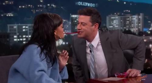 Rihanna Pranks Jimmey Kimmel