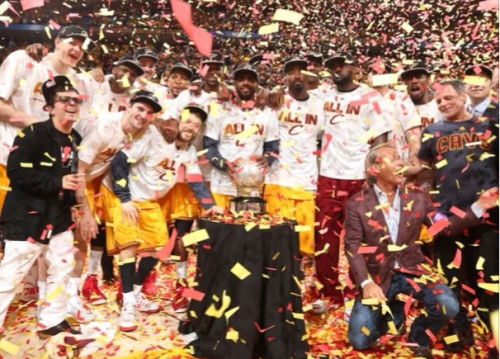 Cleveland Cavaliers Move On To The NBA Finals