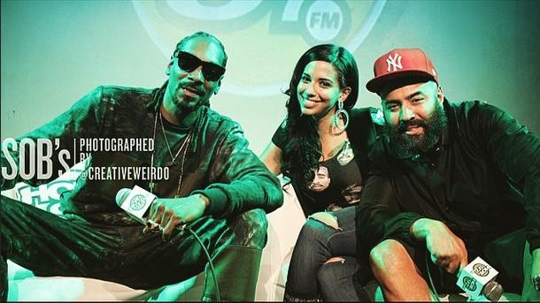 Snoop Dogg Hot 97 Listening Lounge