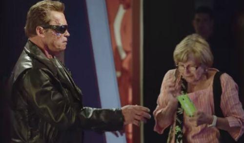 Arnold Schwarzenegger Terminator Prank