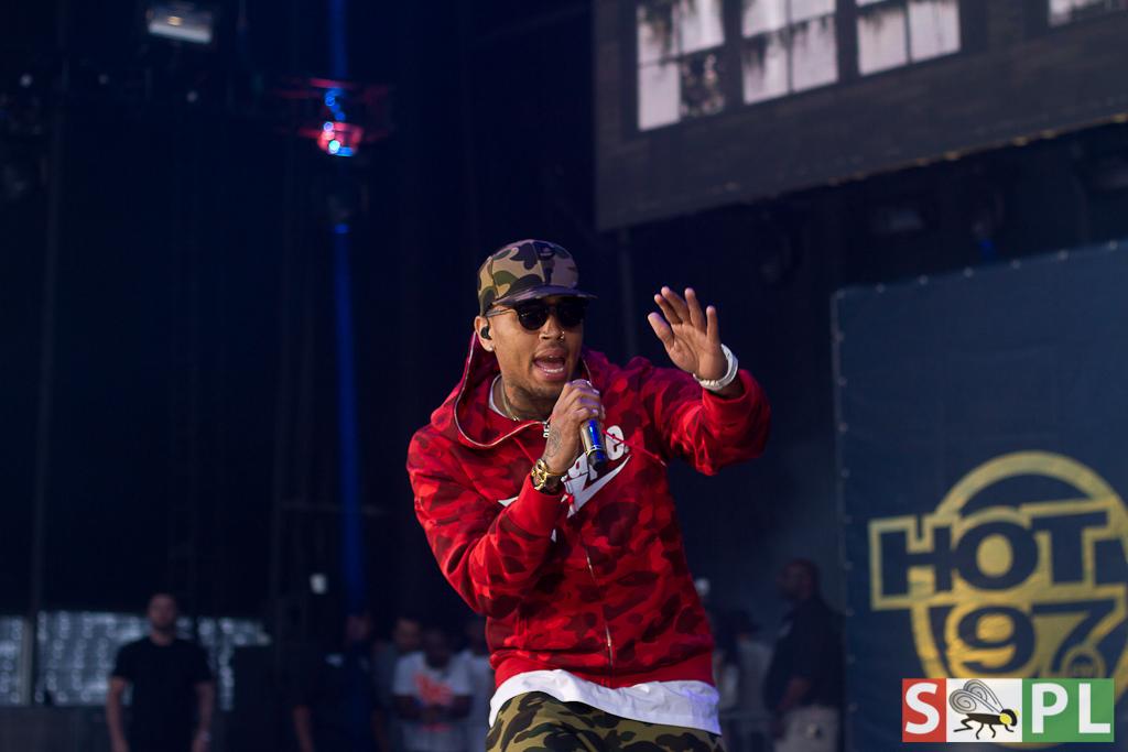 Chris Brown Summer Jam 2015