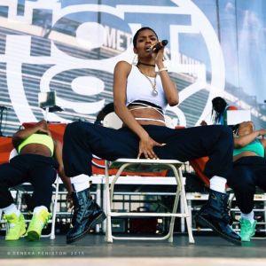 Teyana Taylor Summer Jam 2015