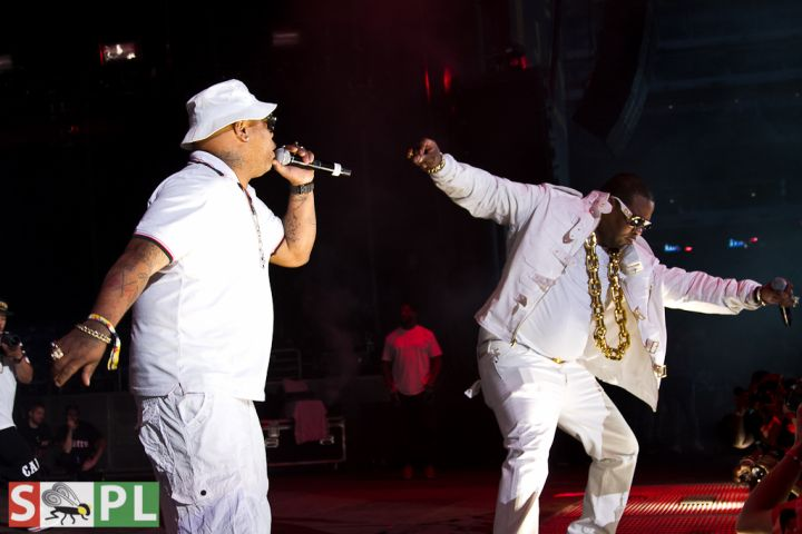 Spliff Star and Busta Rhymes Summer Jam 2015
