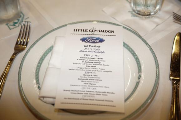 ford dinner at essence festival
