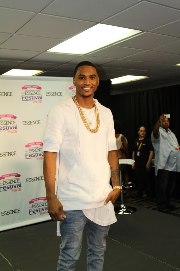 trey songz at essence fest